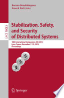 Stabilization  Safety  and Security of Distributed Systems Book