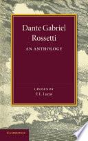 Dante Gabriel Rossetti Books, Dante Gabriel Rossetti poetry book