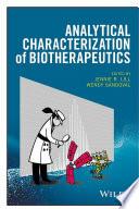 Analytical Characterization of Biotherapeutics Book