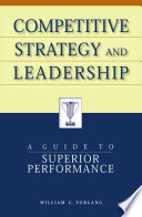 Competitive Strategy and Leadership