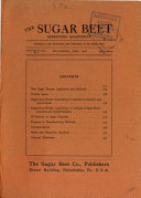 The Sugar Beet