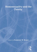 Homosexuality and the Family