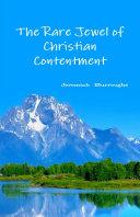 The Rare Jewel of Christian Contentment Pdf/ePub eBook