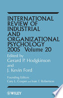 International Review Of Industrial And Organizational Psychology 2005