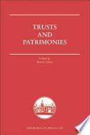 Trusts And Patrimonies