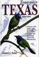 Birder s Guide to Texas