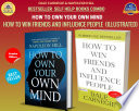 DALE CARNEGIE   NAPOLEON HILL INTERNATIONAL BEST SELLER COMBO  HOW TO WIN FRIENDS AND INFLUENCE PEOPLE  ILLUSTRATED    HOW TO OWN YOUR OWN MIND