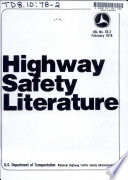 Highway Safety Literature