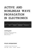 Active and Nonlinear Wave Propagation in Electronics
