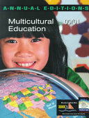 Multicultural Education 2000 2001