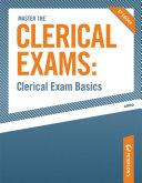 Clerical Exam Basics