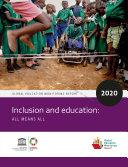 Global education monitoring report  2020