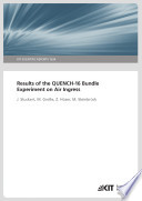 Results of the QUENCH 16 Bundle Experiment on Air Ingress  KIT Scientific Reports   7634  Book