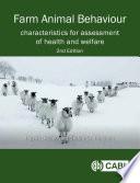 Farm Animal Behaviour  2nd Edition