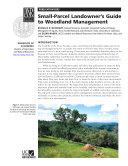 Small-parcel Landowner's Guide to Woodland Management