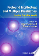 Profound Intellectual and Multiple Disabilities Book