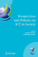 Perspectives and Policies on ICT in Society Pdf/ePub eBook