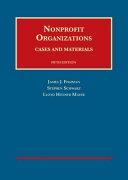 Nonprofit Organizations, Cases and Materials