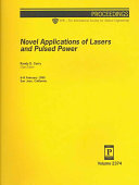 Novel Applications of Lasers and Pulsed Power