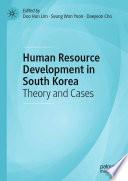 Human Resource Development In South Korea