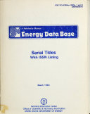 Energy Data Base