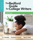 The Bedford Guide for College Writers with Reader Book