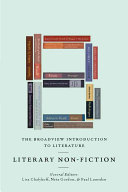The Broadview Introduction to Literature  Literary Nonfiction