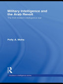 Pdf Military Intelligence and the Arab Revolt Telecharger