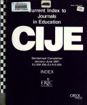 Current Index to Journals in Education Book