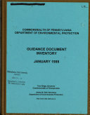 Pdf Guidance Document Inventory