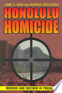 Honolulu Homicide Book