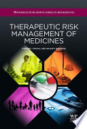 Therapeutic Risk Management of Medicines Book