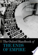 The Oxford Handbook of the Ends of Empire Book PDF