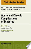 Acute And Chronic Complications Of Diabetes An Issue Of Endocrinology And Metabolism Clinics E Book Book PDF