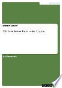 Nikolaus Lenau: Faust - eine Analyse
