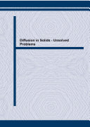 Diffusion in Solids - Unsolved Problems Book