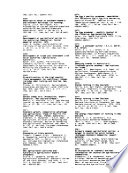 Australian And New Zealand Agricultural Markets 1979 March 1987