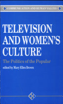Television and Women s Culture