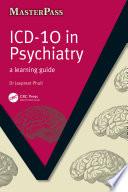 ICD 10 in Psychiatry