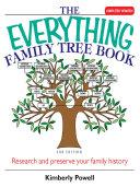 The Everything Family Tree Book [Pdf/ePub] eBook