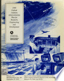 The Federal Aviation Administration Plan for Research  Engineering  and Development Book