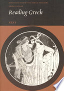 Cover of Reading Greek: Text