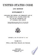 Title 42, The public health and welfare