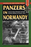 Panzers in Normandy