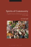 Spirits of Community [Pdf/ePub] eBook