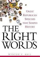 The Right Words Book