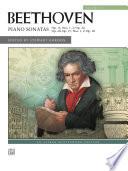 Beethoven Piano Sonatas  Volume 2  Nos  9 15