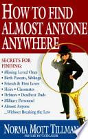 How to Find Almost Anyone, Anywhere