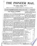 The Pioneer Mail and Indian Weekly News