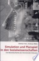 Simulation und Planspiel in den Sozialwissenschaften